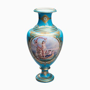 Geburt der Venus Vase aus Sevres Porzellan