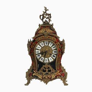 Orologio da camino in stile Boulle
