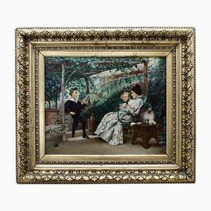 Painting Recital, K. Stepanov, 1854—1910