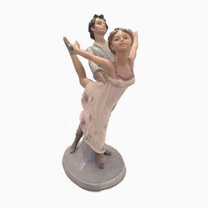 Coppia di ballerini di Lladro