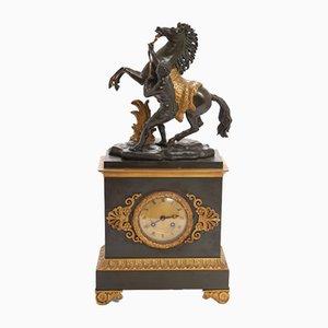 Marly Horses Mantel Clock