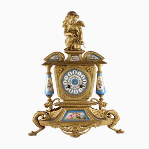 Mantel Clock in the Style of Louis Xiv