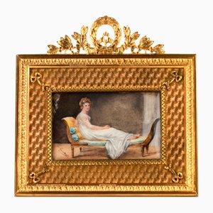 Miniature Madame Recamier