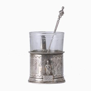 Russian Silver Cup Holder