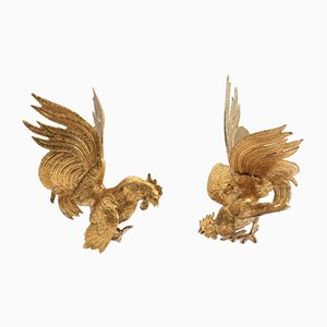 Fighting Roosters, Set of 2