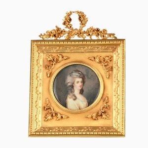 Romantic Miniature Potrait by Lachatre