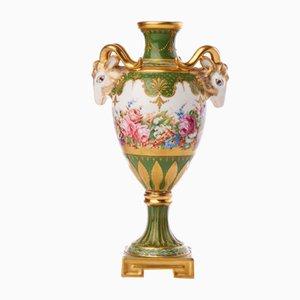Jarrón de porcelana, siglo XIX