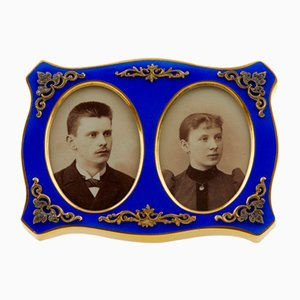 Frame for Paired Photographs in the Style of Carl Faberge, Set of 2