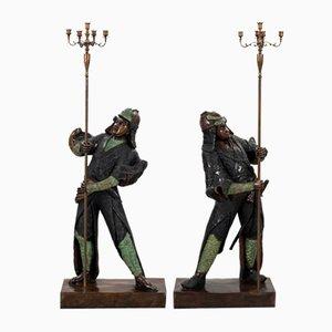 Esculturas Samurai. Juego de 2