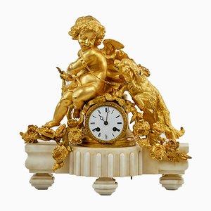 Fireplace Clock from Phillipe Mourey