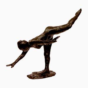 Arabesque in bronzo di E. Dega