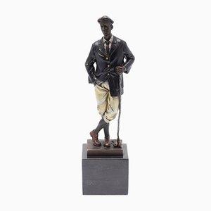 Bronze Sculpture of Golfer