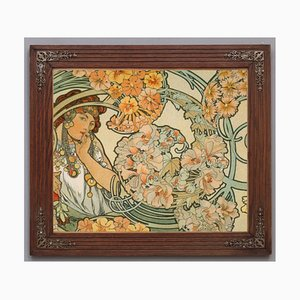 Art Nouveau Frames, Set of 2
