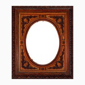 Five Carved Wooden Frame
