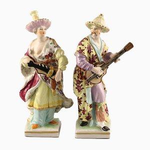 Porcelain Figures from KPM, Set of 2