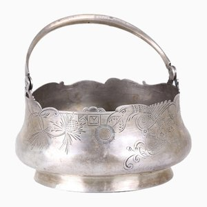 Russian Silver Sugar Bowl