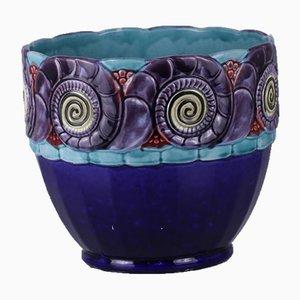 Jugendstil Vase Übertopf
