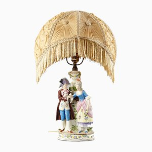 Lady and Cavalier Table Lamp