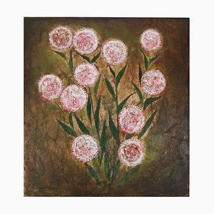 Chrysanthemums by L. Mūrnieks