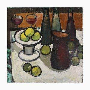 Stillleben mit Zitrone von L. Mūrnieks