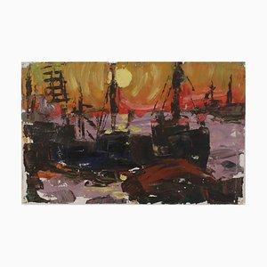 Port of Riga by L. Mūrnieks