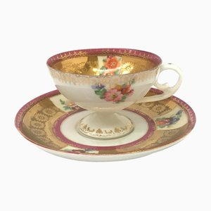 Coffee and Saucer, Set of 2