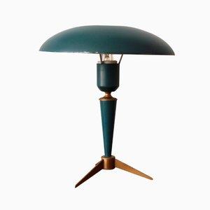 Lampada da tavolo vintage tripode di Louis Kalff per Philips