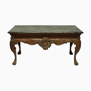 Large George II Style Mahogany Centre Table, 1960s