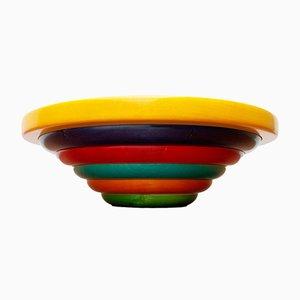 Postmodern Italian Wooden Bowl by Pietro Manzoni
