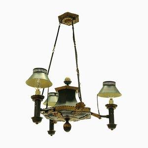 Antique French Tledare Chandelier