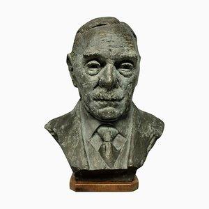 Busto in bronzo nello stile di Jacob Epstein