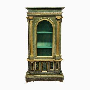 Mueble italiano antiguo de madera, década de 1700