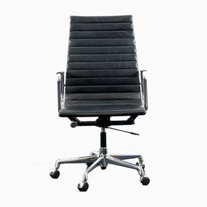 Mid-Century German Aluminum EA-119 Swivel Chair by Charles & Ray Eames for Vitra