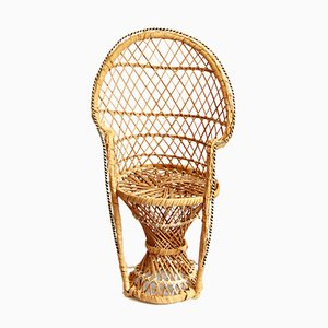 Seggiola Vintage Plant Stand / Emmanuelle Chair, Italy, 1970s
