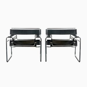 Vintage Wassily Chair by Marcel Breuer for Knoll International, 1960s, Set of 2
