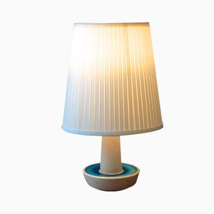 Lampe de Bureau en Céramique par Einar Johansen pour Soholm Stentoj, Danemark, 1960s