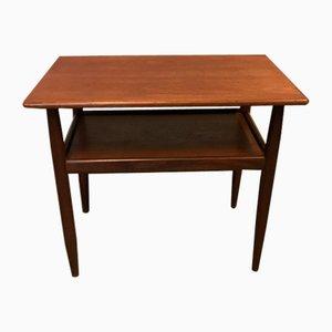 Danish Teak Side or Coffee Table, 1960s