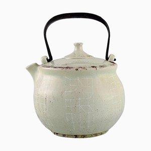 Teapot in Glazed Ceramics by Carl Harry Stålhane for Rörstrand, 1920-1990