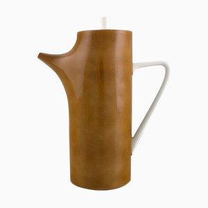 Moderne Kaffeekanne aus Porzellan von Kenji Fujita für Tackett Associates