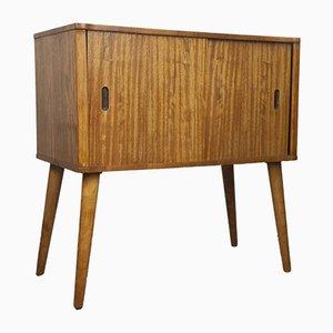 Mueble para discos Mid-Century de afromosia, años 60