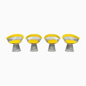 Chaises de Salle à Manger par Warren Platner pour Knoll International, Set de 4