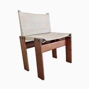 Canvas Monk Chair von Afra und Tobia Scarpa für Molteni, 1970er
