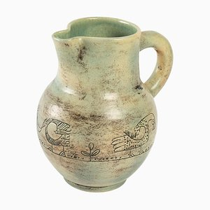 Ceramic Jug by Jacques Blin, 1950s