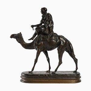 Escultura de bronce de C. Valton