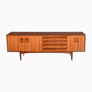 Long Sideboard from Afromosia & Zebrano