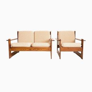 Sessel im Stil von Afra und Tobia Scarpa