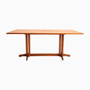 Teak Dining Table by Ilmari Tapiovaara for the Permanent of Cantù, 1960s