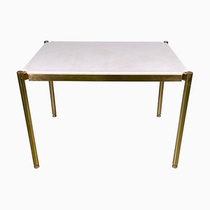 20th Century Low Table in Brass and Sivec Marble by Osvaldo Borsani for Tecno