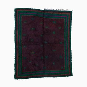 Lila Vintage Tulu Teppich