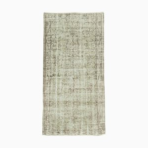 Beige Überfärbter Teppich